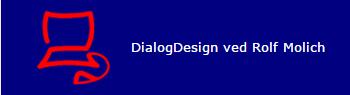 Dialog Design ved Rolf Molich Logo