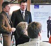 v.l.:Prof. Winter, FH Köln und Dr. Schönmeier, Geschäftsführer EMPRISE